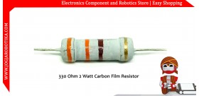 330 Ohm 2 Watt Carbon Film Resistor