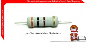 300 Ohm 2 Watt Carbon Film Resistor