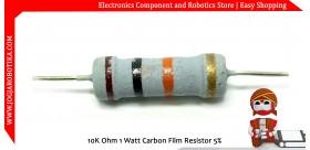 10K Ohm 1 Watt Carbon Film Resistor