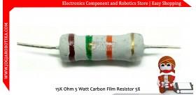 15K Ohm 5 Watt Carbon Film Resistor