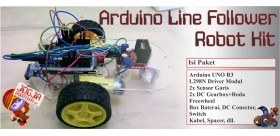 Arduino Line Follower Robot Kit