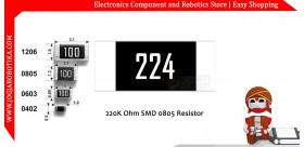 220K Ohm SMD0805 Resistor