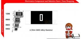 0 Ohm SMD0805 Resistor