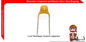 2.2uF Multilayer Ceramic Capacitor