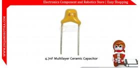 4.7nF Multilayer Ceramic Capacitor