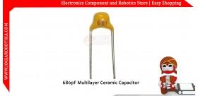 680pF Multilayer Ceramic Capacitor