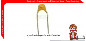 470pF Multilayer Ceramic Capacitor