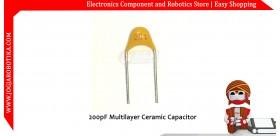 200pF Multilayer Ceramic Capacitor