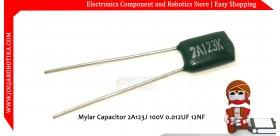Mylar Capacitor 2A123J 100V 0.012UF 12NF