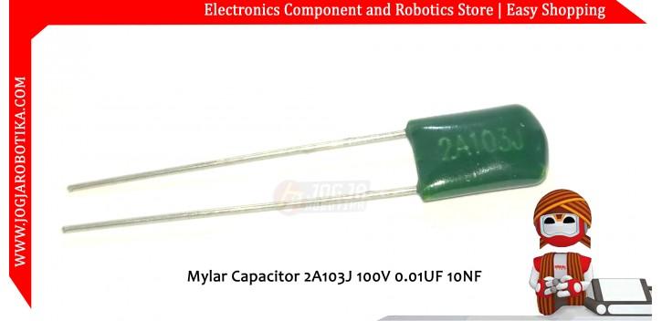 Mylar Capacitor 2A103J 100V 0.01UF 10NF