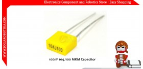100nF 104J100 MKM Capacitor