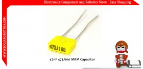 47nF 473J100 MKM Capacitor