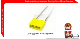 33nF 333J100 MKM Capacitor