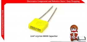 22nF 223J100 MKM Capacitor