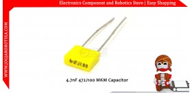 4.7nF 472J100 MKM Capacitor