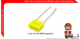 2.2nF 222J100 MKM Capacitor