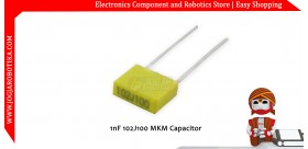 1nF 102J100 MKM Capacitor