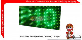 Modul Led P10 Hijau (Semi Outdoor) - Meiyad