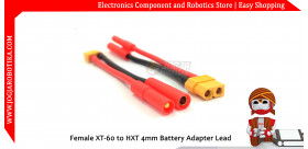 Female XT-60 to HXT 4mm Battery Adapter Lead