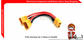XT60 Harness for 2 Packs in Parallel