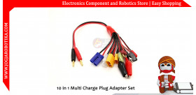 10 in 1 Multi Charge Plug Adapter Set