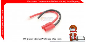 HXT 3.5mm with 14AWG Silicon Wire 10cm