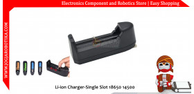 Li-ion Charger-Single Slot 18650 14500