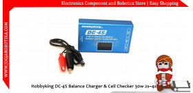 Hobbyking DC-4S Balance Charger & Cell Checker 30w 2s~4s