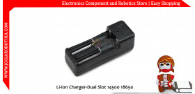 Li-ion Charger-Dual Slot 14500 18650