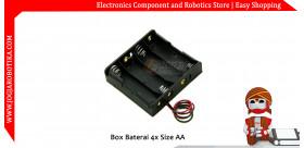 Box Baterai 4x Size AA