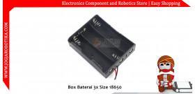 Box Baterai 3x Size 18650