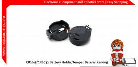 CR2025/CR2032 Battery Holder/Tempat Baterai Kancing