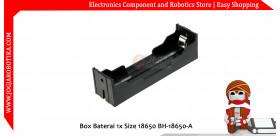 Box Baterai 1x Size 18650 BH-18650-A