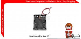 Box Baterai 3x Size AA