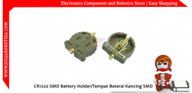 CR1220 SMD Battery Holder/Tempat Baterai Kancing SMD