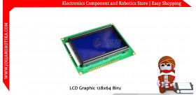 LCD Graphic 128x64 Biru
