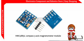 HMC5883L compass 3-axis magnetometer module