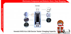 Keweisi KWS-V20 USB Doctor Tester Charging Capacity