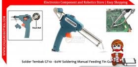 Solder Tembak GT-60W Soldering Manual Feeding Tin Gun