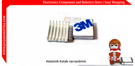 Heatsink Kotak 14x14x6mm