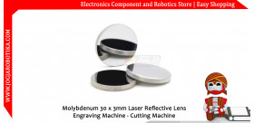 Molybdenum 30 x 3mm Laser Reflective Lens Engraving Machine - Cutting Machine