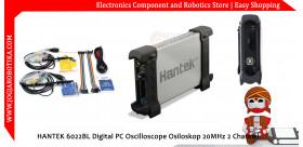 HANTEK 6022BL Digital PC Oscilloscope Osiloskop 20MHz 2 Channel