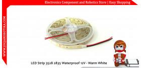 LED Strip 3528 2835 Waterproof 12V - Warm White
