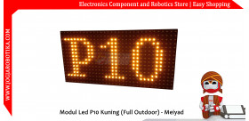 Modul Led P10 Kuning (Full Outdoor) - Meiyad