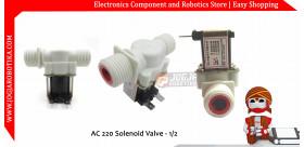AC 220 Solenoid Valve - 1/2