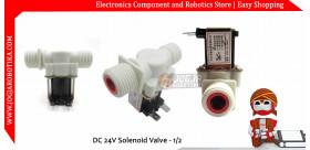 DC 24V Solenoid Valve - 1/2