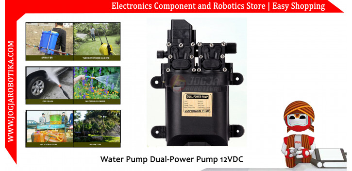 Water Pump Dual-Power Pump 12VDC