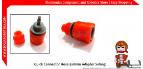 Quick Connector Hose 5x8mm Adapter Sambungan Selang