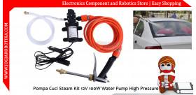 Pompa Cuci Steam Kit 12V 100W Water Pump High Pressure