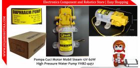 Pompa Cuci Motor Mobil Steam 12V 60W High Pressure Water Pump YHBZ-4451